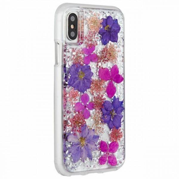 best service a7348 4f022 Case-Mate Karat Petals for iPhone XS/ X, Purple