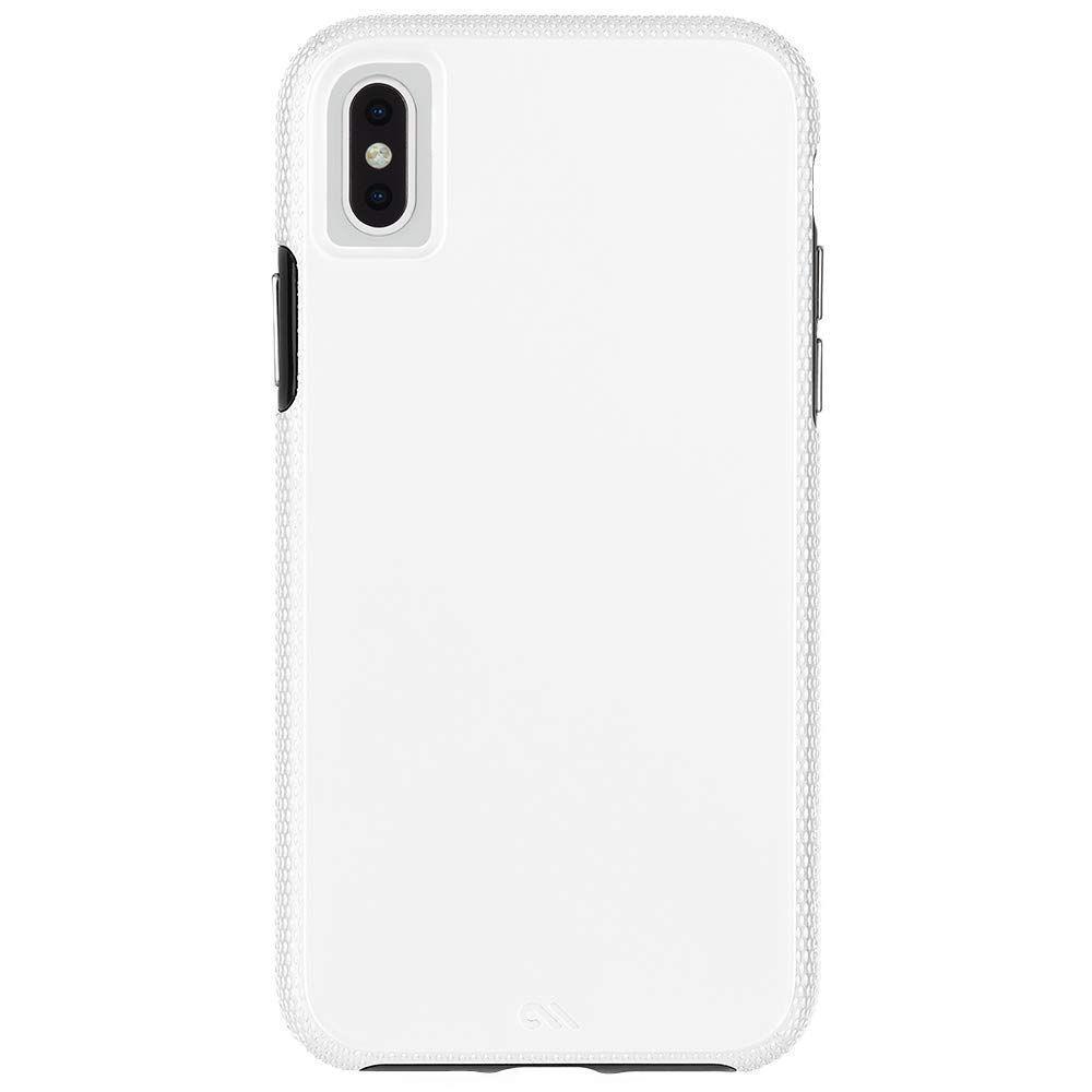 on sale 014b8 be718 Case-Mate iPhone XS Max Tough Grip, White/Black