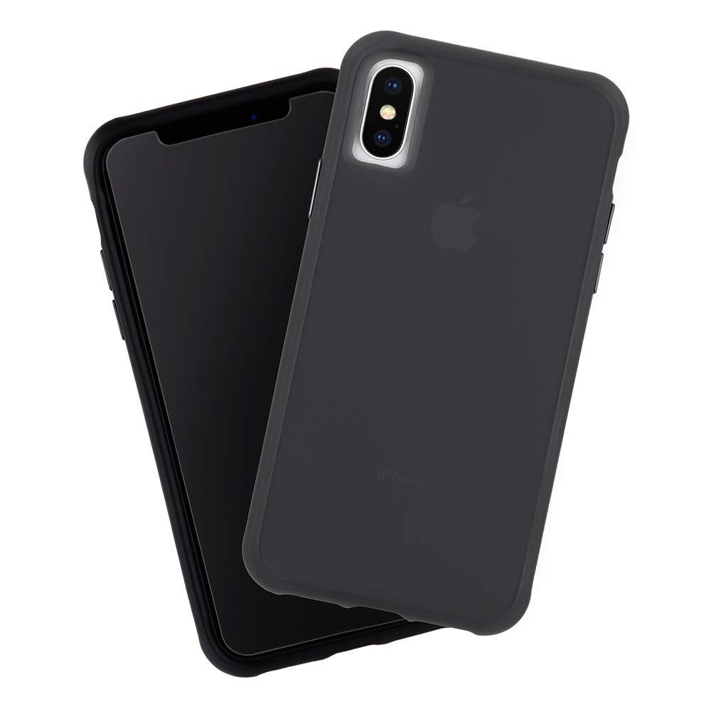 online retailer a152f 85c32 Case-Mate iPhone XS Max Tough Matte Black And Screen Protector