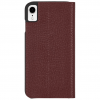 Case-Mate iPhone XR Barely There Folio, Brown