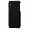 Case-Mate iPhone XS Max Barely There Leather, Black
