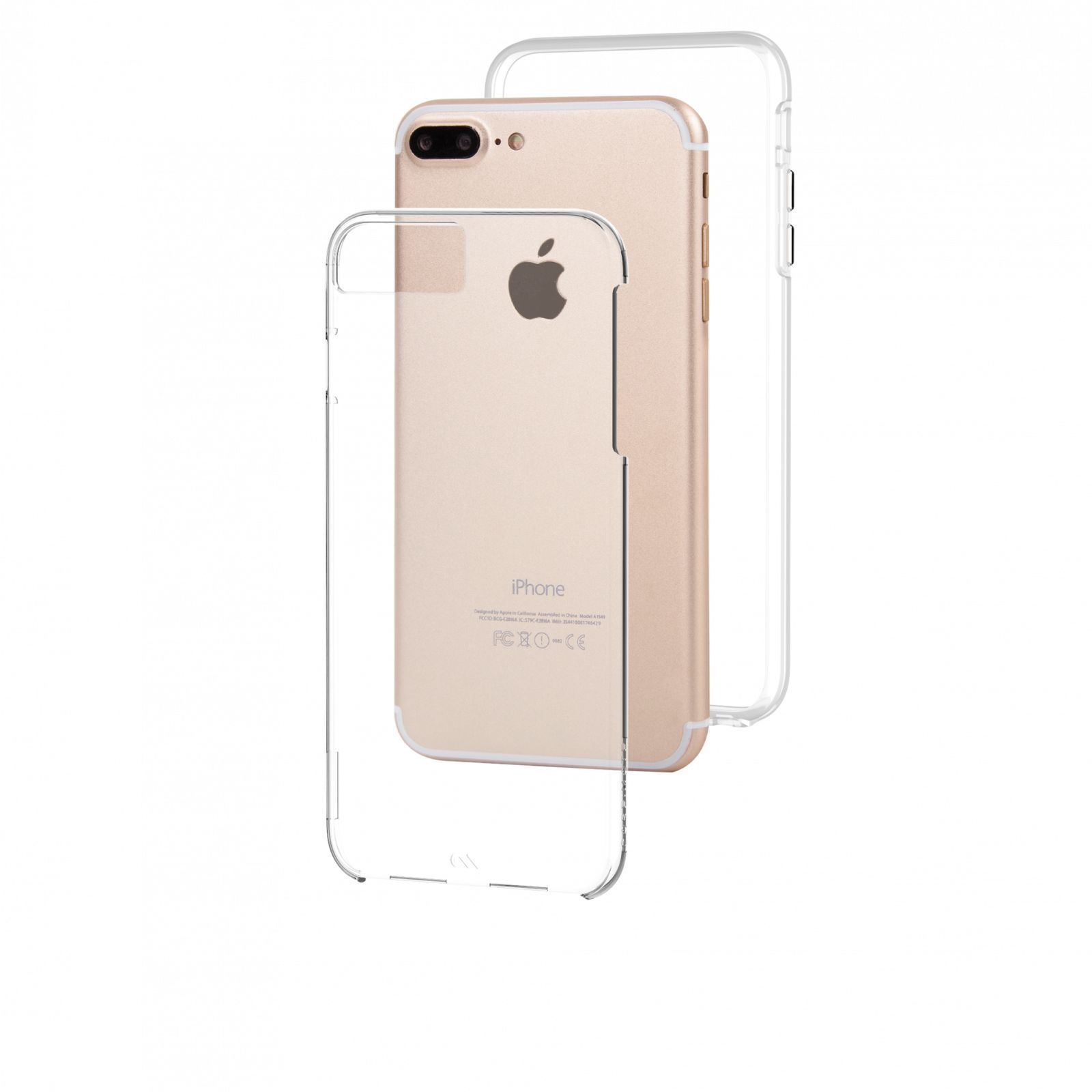 CASE-MATE Sheer Glam Case for iPhone XS/X Champagne - DXB