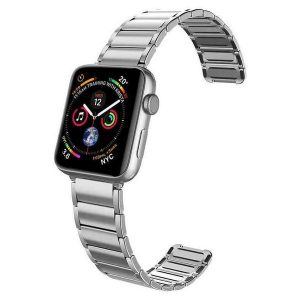 X-Doria Classic Silver Apple Watch 42/44mm