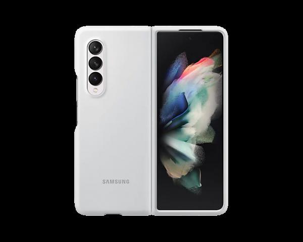 Samsung Galaxy ZFold3 silicone cover white